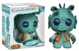 Classic Star Wars Greedo Fabrikations Plush Figure Toy #04 FUNKO NEW MIB - $16.40