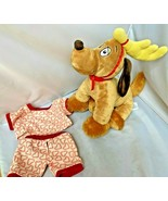 Build A Bear Plush Max The Dog How The Grinch Stole Christmas SO CLEAN w... - $39.55