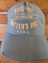 SURE FIT Seamless Gutters Inc Alton IL Snapback Adult Cap Hat - $14.84