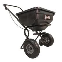 Outdoor Garden Equipment 85 Pounds Push Broadcast Spreader for Seed Fert... - $63.60