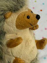"Webkiz Hedgehog Ganz HM130 No Code 7"" plush stuffed animal Used Free Shipping image 7"