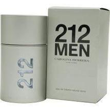 212 By Carolina Herrera For Men. Eau De Toilette Spray 1.7 Ounces - $55.74