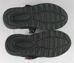 Cat & Jack Girls Black Purple Eva Slip-On Flats Sneakers Toddler Size 9 US image 6