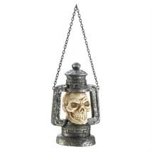 Red Eye Skull Head LED Hanging Lantern - $11.69