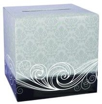 Hortense B. Hewitt Wedding Accessories Damask Card Box - $23.65