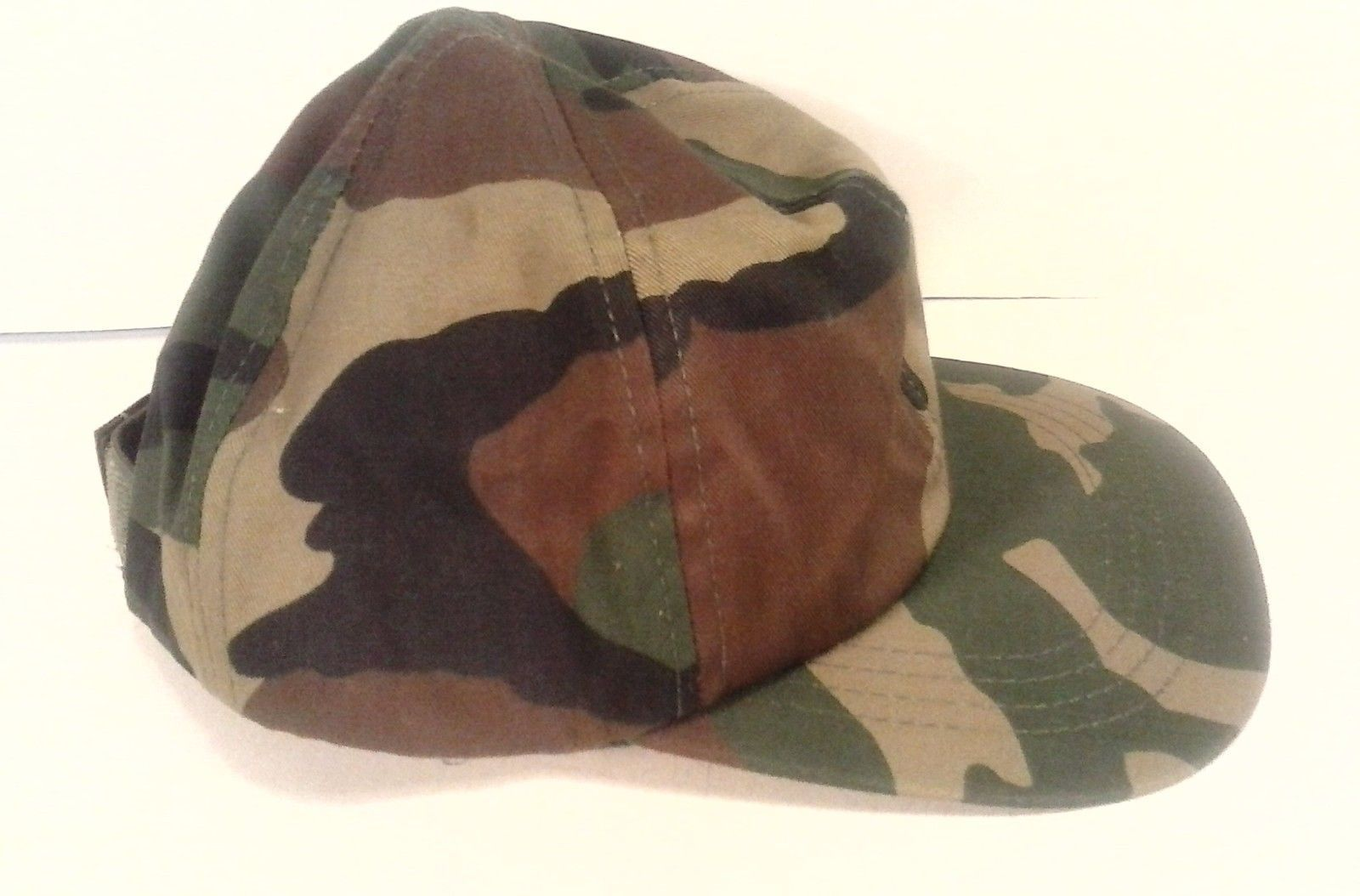 ROTHCO COMBAT CERTIFIED CAMMO CAMOUFLAGE MILITARY HAT CAP GREEN