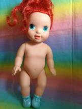 """2008 Mattel Disney The Little Mermaid Baby Ariel Doll - Nude - as is - 13"""" - $12.85"""