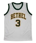 Allen Iverson #3 Bethel High School New Men Basketball Jersey White Any ... - $44.99+