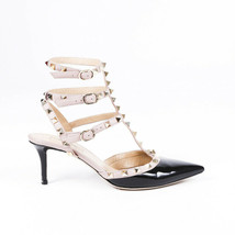 Valentino Rockstud Pointed Cage Pumps SZ 38 - $635.00