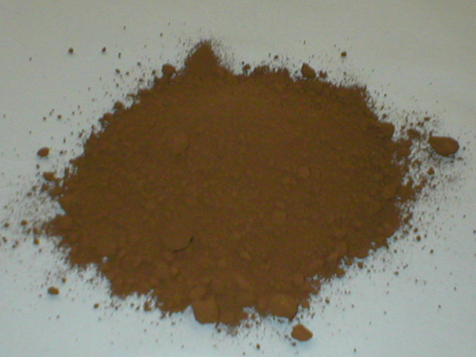 385-01 Umber Brown Concrete Cement Powder Color 1 lb. Makes Stone Pavers Bricks