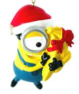Carl- Despicable Me-Minion Ornament-Santa Hat and Bananas-Holiday! - $7.71