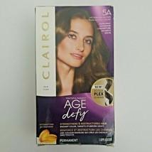 Clairol Age Defy 5A Medium Ash Brown Permanent Hair Color Innovative Tri... - $9.50