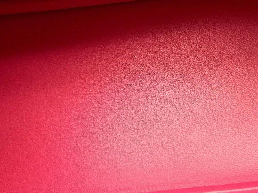 HERMES Bolide 27 Epsom Rose Extreme #D Handbag Shoulder Bag Authentic 5554645 image 6