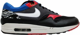 Nike Air Max 1 Black/White-Varsity Red-Varsity Royal Friendly Football P... - $208.43