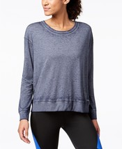 Calvin Klein Womens Performance Drop Shoulder Tie TShirt Solitaire Grey ... - $26.45