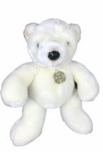 "Dan Dee White Polar Bear Plush Collector's Choice Stuffed Animal 10"" Sit... - $49.49"