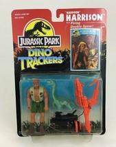 "Harpoon Harrison Jurassic Park Dino Tracker 4"" Figure Kenner Original 90... - $42.72"