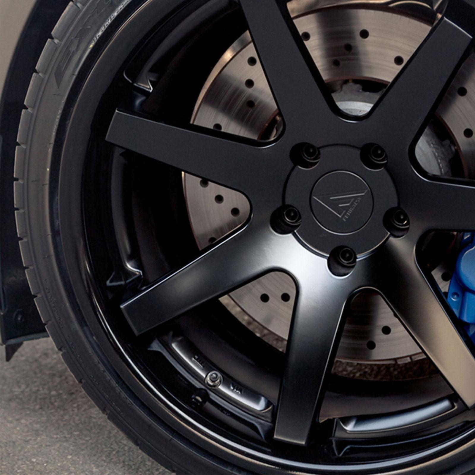 """20"""" Ferrada FR4 20x9/10 Matte Black Wheels For BMW X3 & X4"""