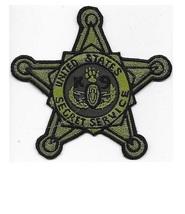 US Secret Service K-9 EOD USSS Explosive Ordnance Detection acu Patch 5 x 5 in  - $10.99