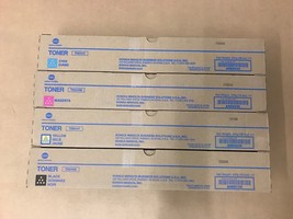 Genuine Konica Minolta TN-514 CMYK Toner Set for bizhub C458 C558 C658 ... - $181.39