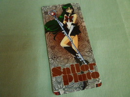 Sailor moon bookmark card sailormoon anime  Pluto (brown) - $6.00