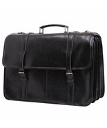 Leathario Bag for Man Leather Messenger Crossbody Briefcase for Computer - $360.65