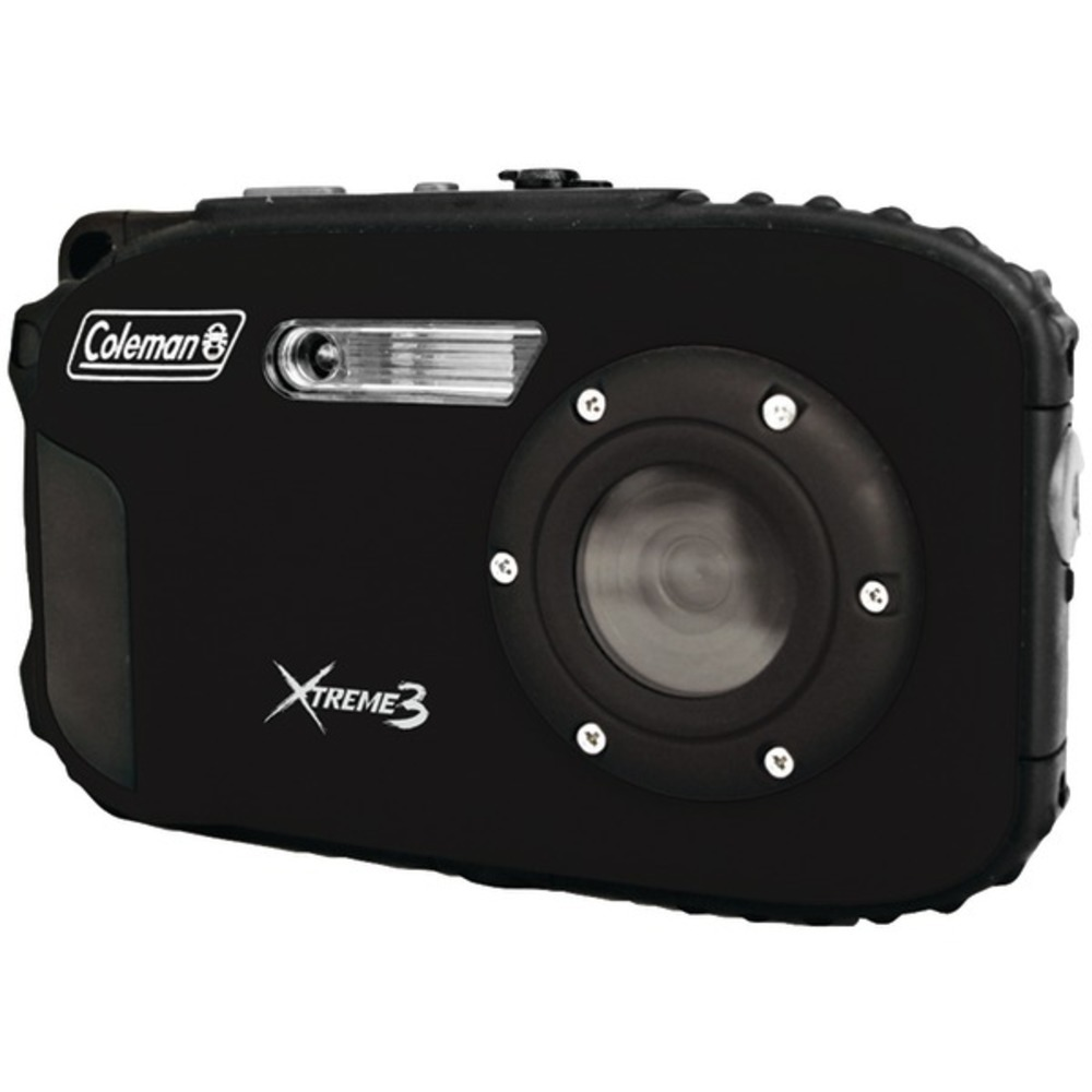 Primary image for Coleman C9WP-BK 20.0-Megapixel Xtreme3 HD Video Waterproof Digital Camera (Black