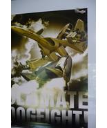 VINTAGE 1999 BIG WEST MACROSS VFX2 ULTIMATE DOGFIGHT GAME POSTER valkyri... - $63.00