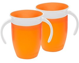 Munchkin Miracle 360 Trainer Cup, Orange, 7 Ounce, 2 Count - $15.87