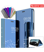 Samsung Note 20 10 Ultra A11 51 71 5G Mirror Luxy Clear Galaxy Flip Case... - $64.62