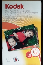 NEW KODAK G Photo Paper Kit FREE SHIPPING  - $19.99