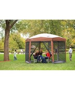 Coleman 12-by-10-foot Hex Instant Screened Canopy/Gazebo - $305.71