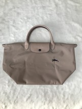 Longchamp Club Collection Horse Embroidery Short Handle Medium Handbag H... - $95.00