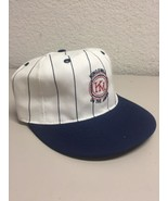 Baseball Cap Hat  KM Kingsmill on the James White blue penstriped - $19.79