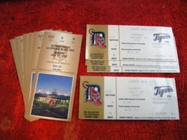 MLB 1997 Detroit Tigers Collectible Souvenir Ticket Stubs $ 4.99 Each! - $4.94