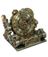 Alchemy Gothic Time Chronambulator Desk Clock Steampunk Resin Gift Decor... - $39.95