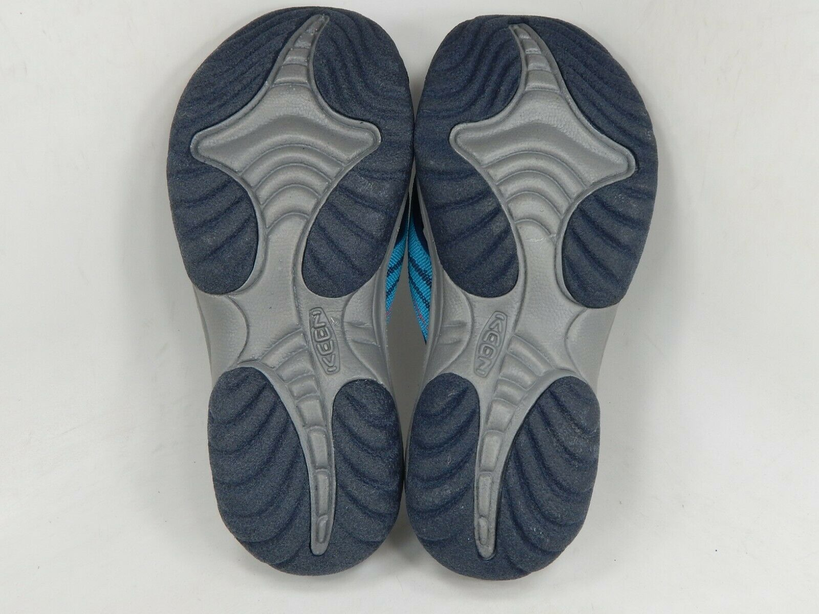 Keen Kona Clapet II Sz US 8 M (B) Eu 38,5 Femmes Sandales Sport Bleu/Vert