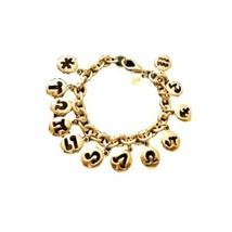 Gold Tone Charms Bracelet - $13.86