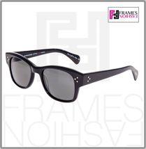 OLIVER PEOPLES Jannsson Sun OV5242S Shiny Black VFX Polarized Sunglasses 5242 image 7