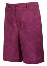 Greg Norman for Tasso Elba Men's Digi Camo Shorts, Perfect Plum,Size 30,... - $21.77