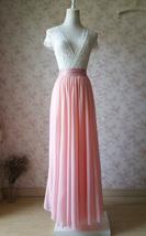 Blush Skirt and Top Set Elegant Plus Size Blush Wedding Bridesmaids Outfit NWT image 2