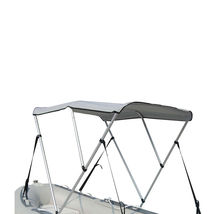 Portable Bimini Top Cover Canopy For Length 14 -16 ft Inflatable Boat (3 bow) image 3