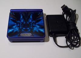 Nintendo GameBoy Advance SP Cobalt Blue WITH WALL CHARGER - BLUE VENOM ... - $57.91