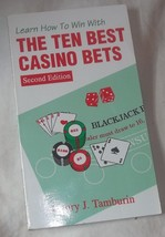 Learn How To Win With Ten Best Casino Bets, Tamburin, Henry J, Nice Book - $1.99