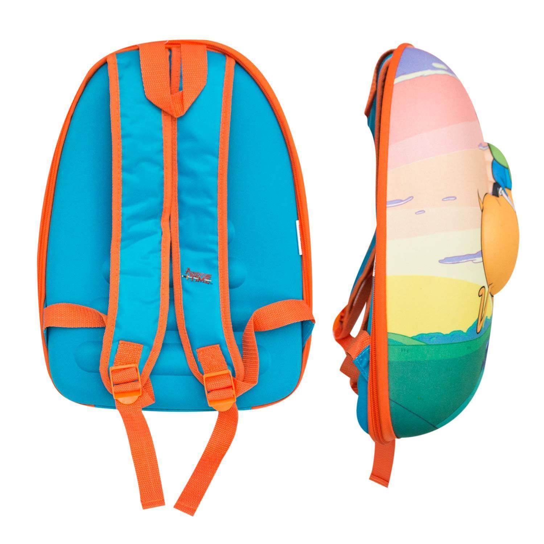 Adventure Time Finn And Jake Bubble Sunset Backpack Orange