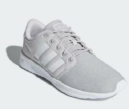 Adidas Cloudfoam QT Racer Women's Running Shoes Gray Sneakers DB0269 - $35.99