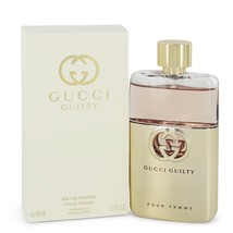 Gucci Guilty Pour Femme by Gucci Eau De Parfum Spray 3 oz for Women - $119.95