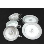Noritake China Theme Tea Cups & Saucers (4 Sets... - $16.00