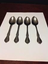 Oneida S.S.S. Celebrity Stainless Steel Teaspoon Lot Of 4 - $9.99