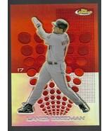 MLB LANCE BERKMAN HOUSTON ASTROS 2004 TOPPS FINEST CHROME REFRACTOR #17 MINT - $1.43